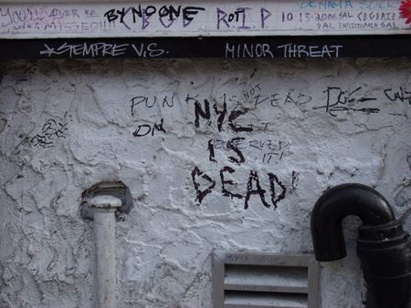 NYC is Dead (New York), photograph, 2006