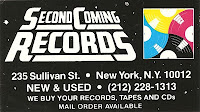 Second Coming Records