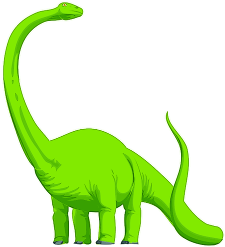 Brontosaurus_head_up