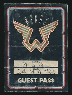 Beatles-VINTAGE-1976-PAUL-McCARTNEY-WINGS-GUEST
