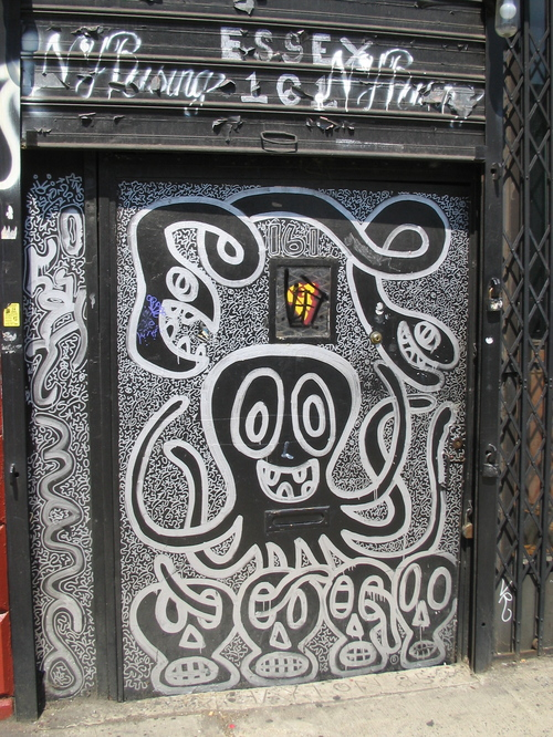 Essex Street Doorwary Featuring art by Marco