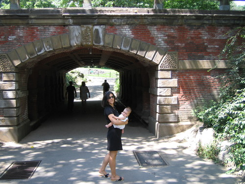Peggy & Charlotte, Central Park
